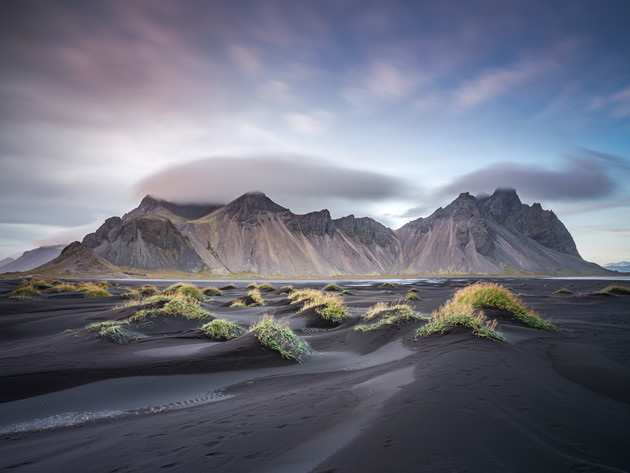Vestrahorn on the Stokksnes Peninsula Iceland