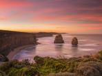 View to Gibson Steps, Great Ocean Road