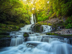 McLean Falls Catlins Waterfall