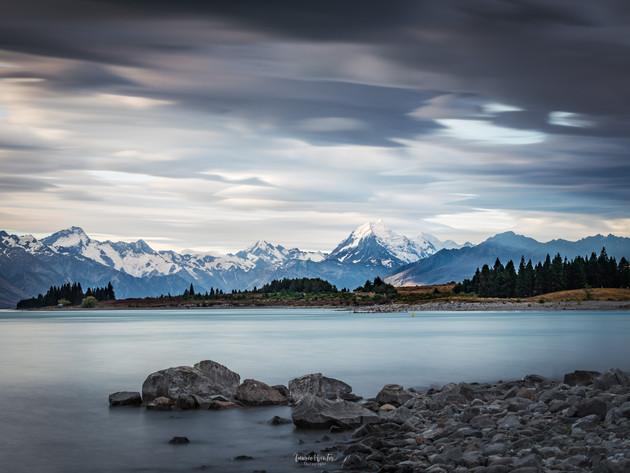 Moody Skies Lake Pukaki