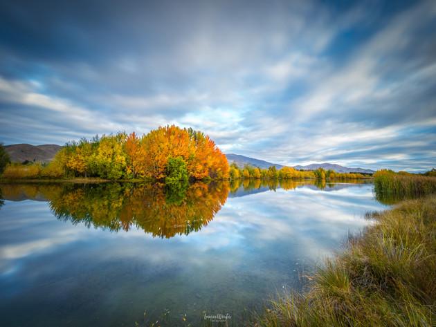 Autumn Colours in Twizel