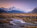 Tasman Valley Sunset Aoraki/Mt Cook National Park
