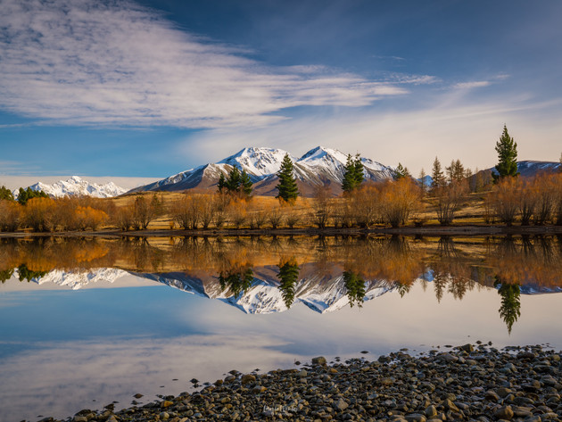 Lake Camp Morning Reflections