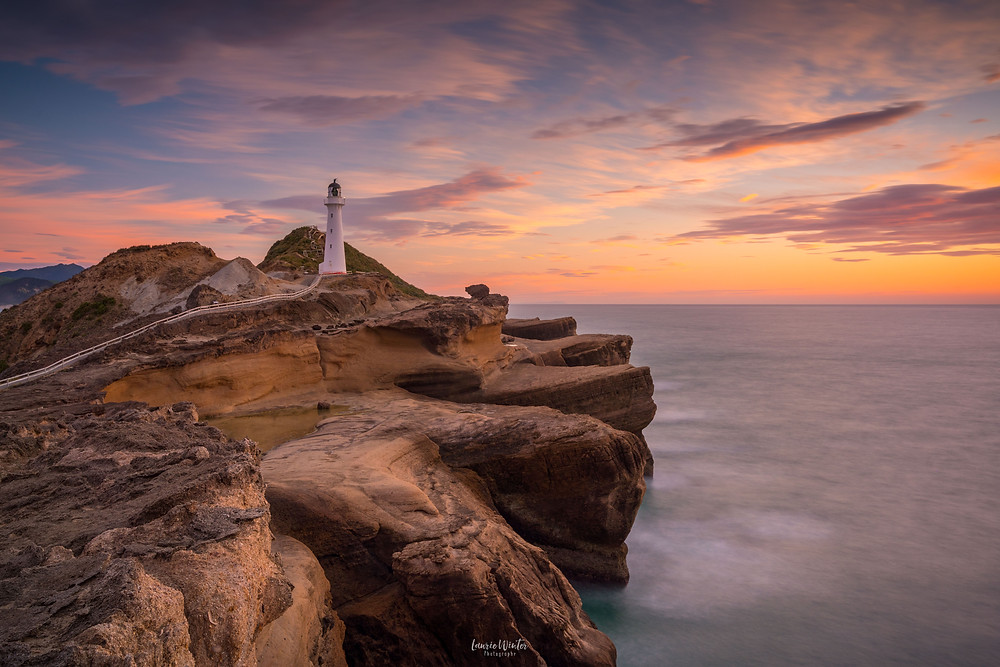 Castlepoint Lighthouse Sunrise