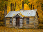 Autumn at the Old House in Arrowtown
