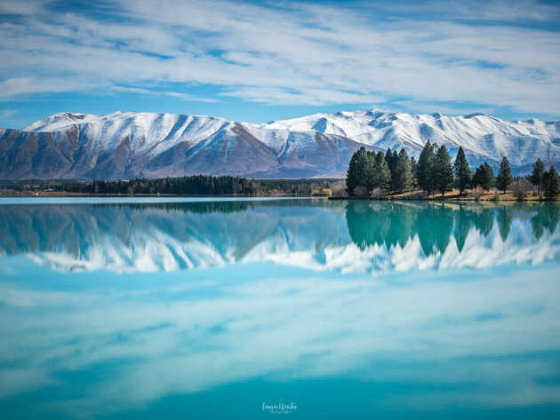 Winter Reflections at Lake Ruataniwha
