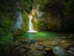 Queenstown's Lake Face Creek Falls