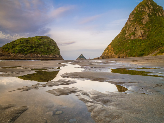 New Plymouth's Back Beach