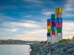Urban Forest Cubes, Evans Bay, Wellington