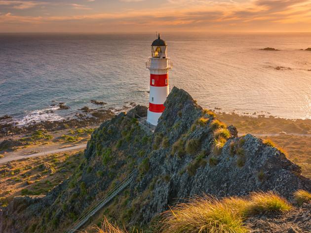 Cape Palliser Lighthouse Sunset
