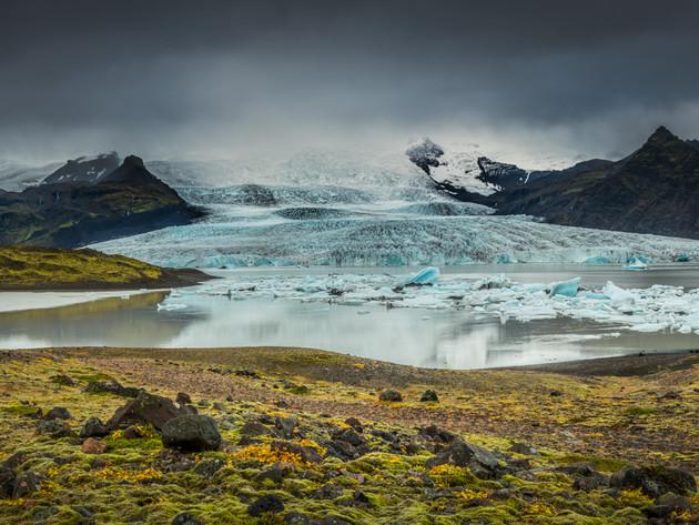Vatnajökull Glacier Lagoon Panorama