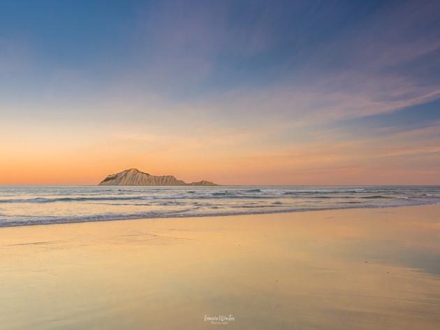 Sunset Waimarama Beach Hawkes Bay