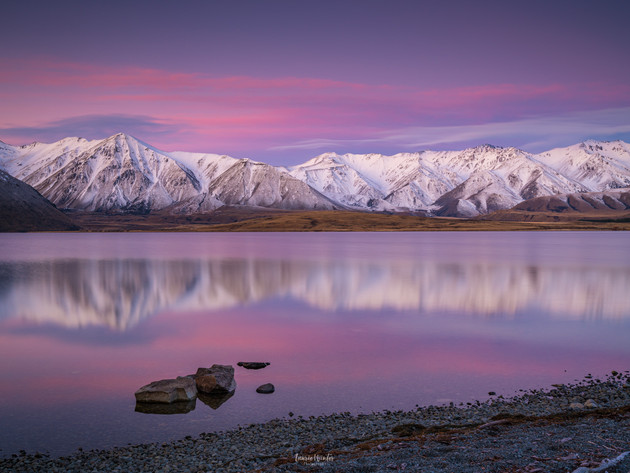 Lake Heron Sunset