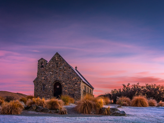 Sunrise at Church of the Good Shepherd