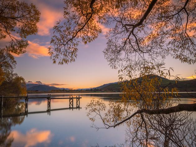 Lake Hayes Autumn Sunrise