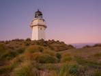 Tussock and Sunrise at Waipapa Point