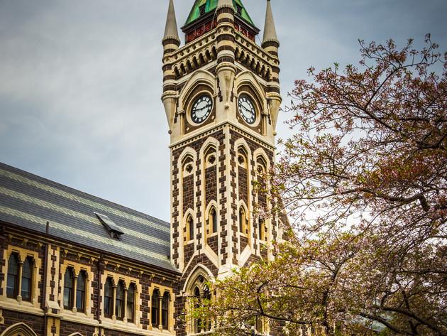Otago University Clock Tower