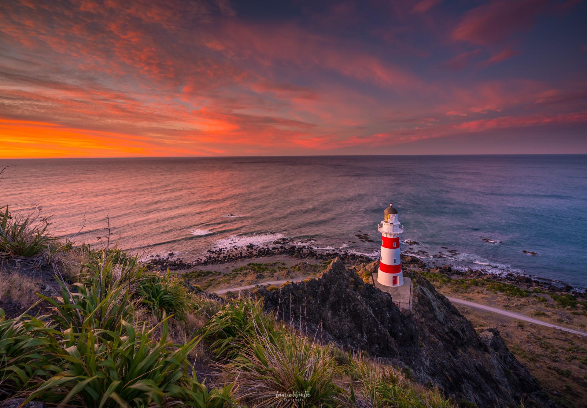 cape-palliser-lighthouse-sunrise-wairara