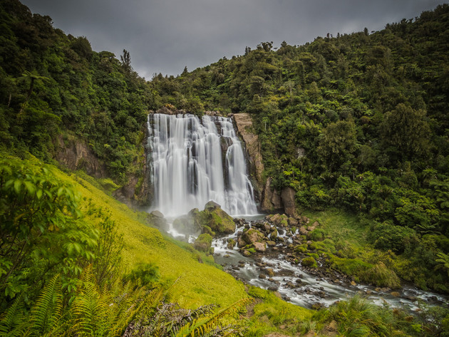 Marokopa Falls Waikato