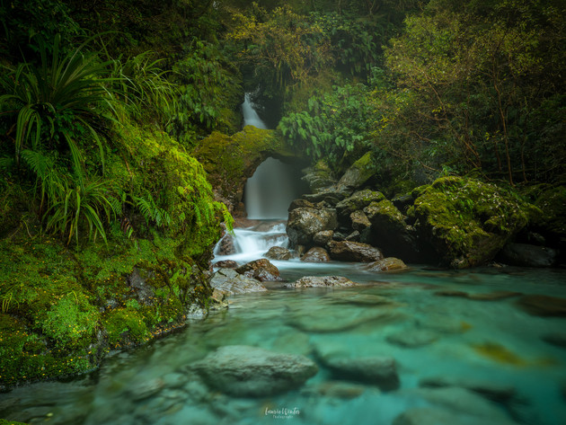 Secret Waterfall Haast Pass