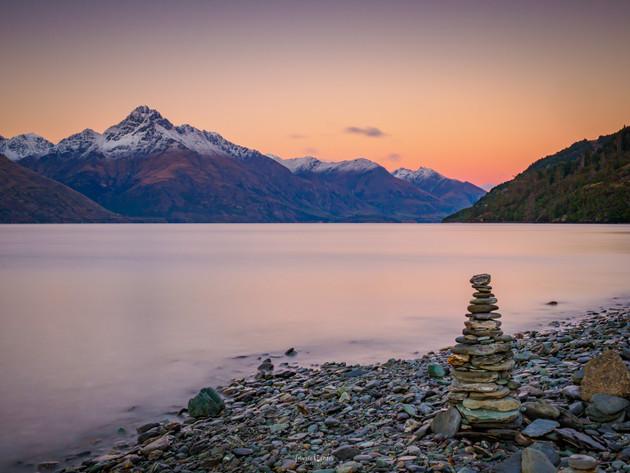 Sunrise at Lake Wakatipu Queenstown