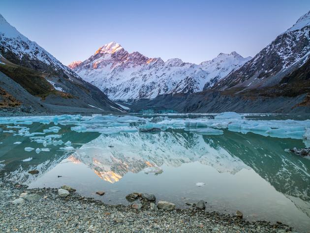 Hooker Lake Sunset Reflections