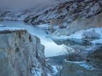 Winter at Blue Lake St Bathans