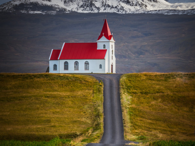 Ingjaldshóll Church Iceland