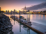 St Marys Bay Sunrise Westhaven Marina