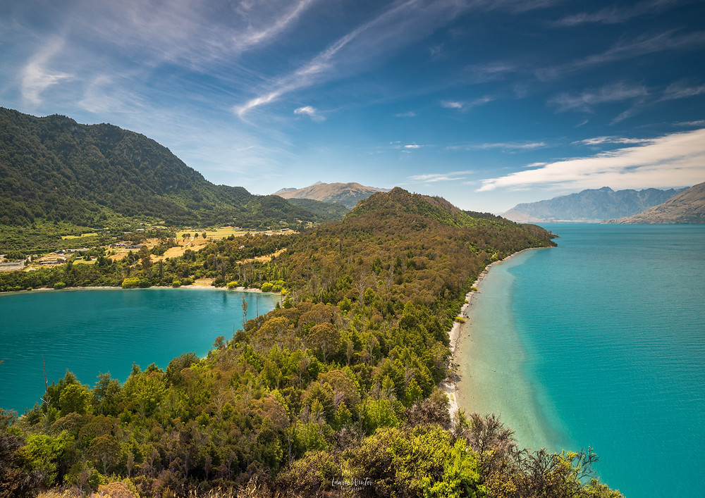 Bobs Cove Queenstown on a sunny day