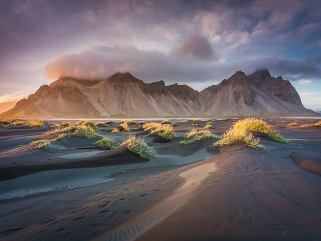 Vestrahorn Sunset near Höfn in East Iceland