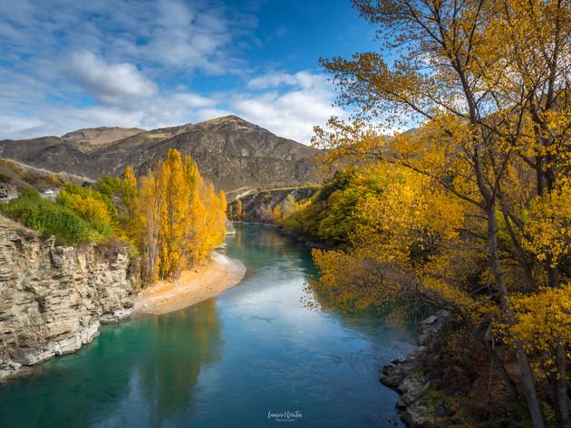 Autumn Kawerau River Queenstown