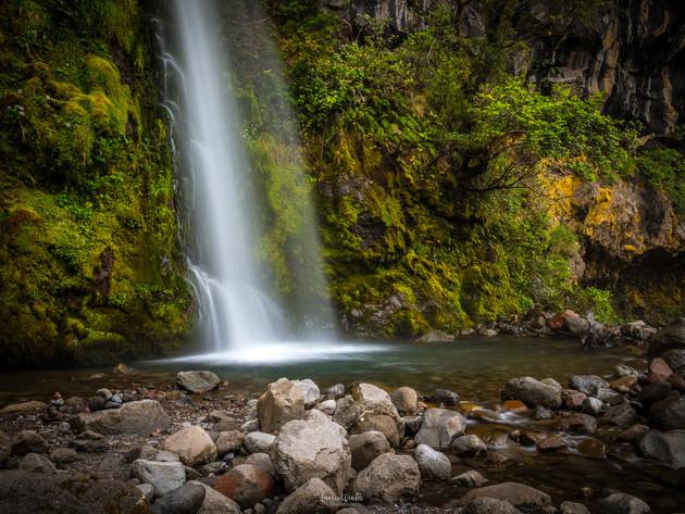 The Base of Dawson Falls Mt Taranaki