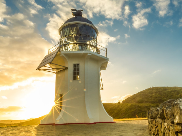 Beautiful Morning Cape Reinga Lighthouse