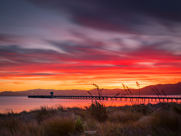 Petone Wharf at Sunset