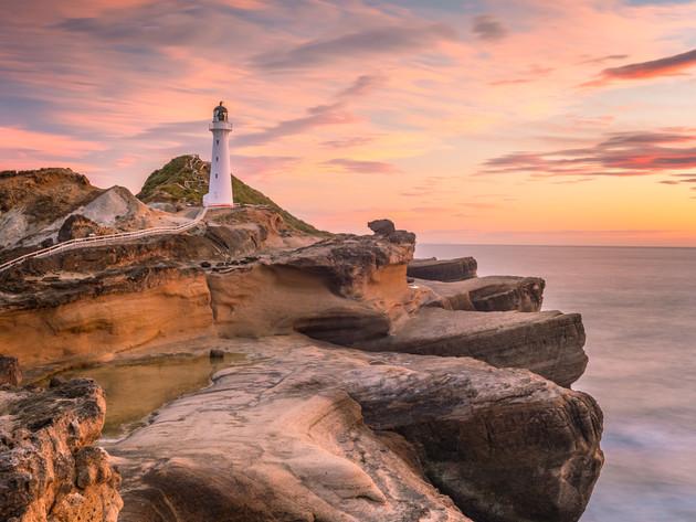 Sunrise at Castlepoint Lighthouse