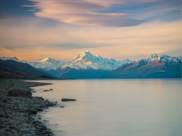 Mt Cook from Peters Lookout