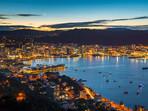 Wellington Harbour from Mt Victoria