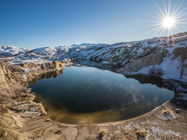 Blue Lake Sunrise St Bathans