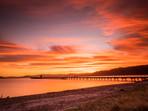 Sunset Petone Wharf