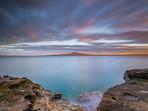 Rangitoto Island Sunrise Auckland