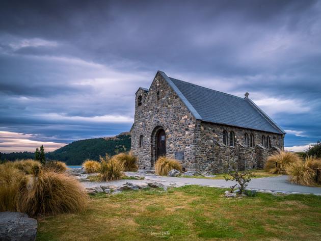 Stormy Church of the Good Shepherd