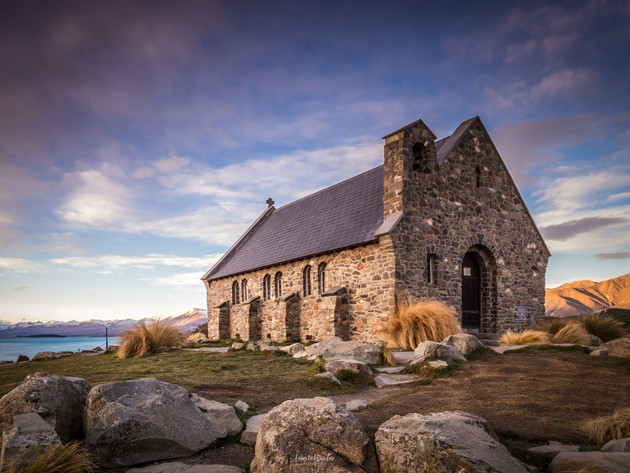 Early Evening at the Church of the Good Shepherd