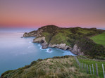 Pink Cape Farewell Sunset