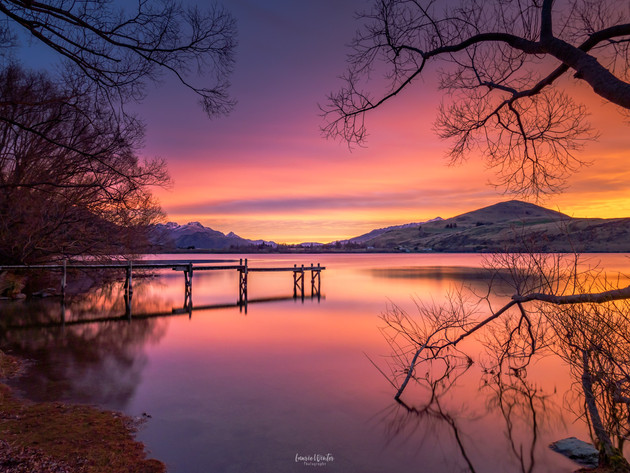 Lake Hayes Sunset Queenstown