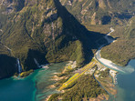 Milford Sound from the Air