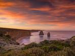 Sunrise at Twelve Apostles on the Great Ocean Road