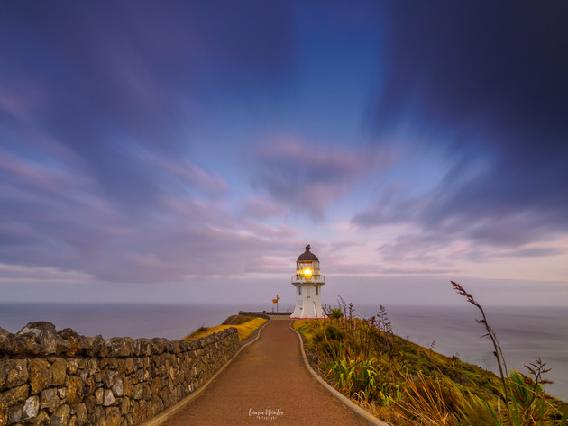Cape Reinga Moody Sunrise