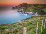 Sunset at Cape Farewell
