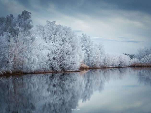 Twizel Winter Hoar Frost